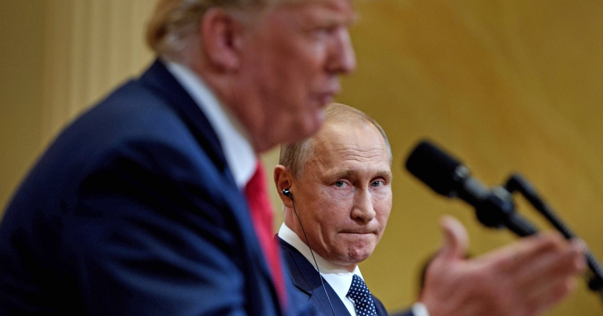プーチン大統領outpacesにトランプ-国際信託投票