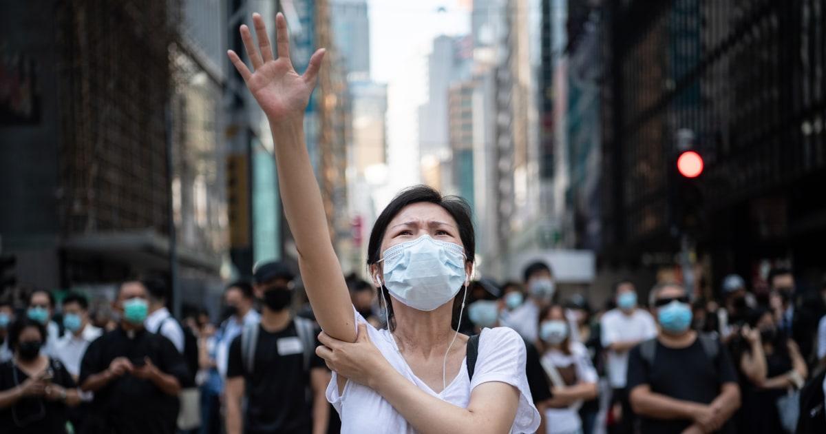香港からベネズエラデモ参加者の要求の変化2019年