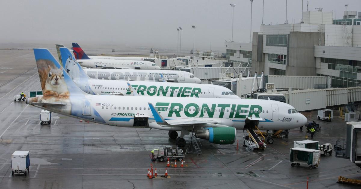Frauen behaupten, Sie wurden sexuell belästigt, die auf Frontier Flüge