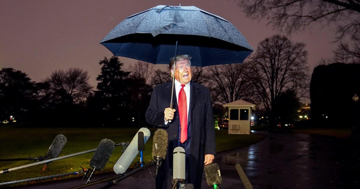'Lügner!': Trump feuert aus post-Weihnachts-tweetstorm über Amtsenthebung Sackgasse