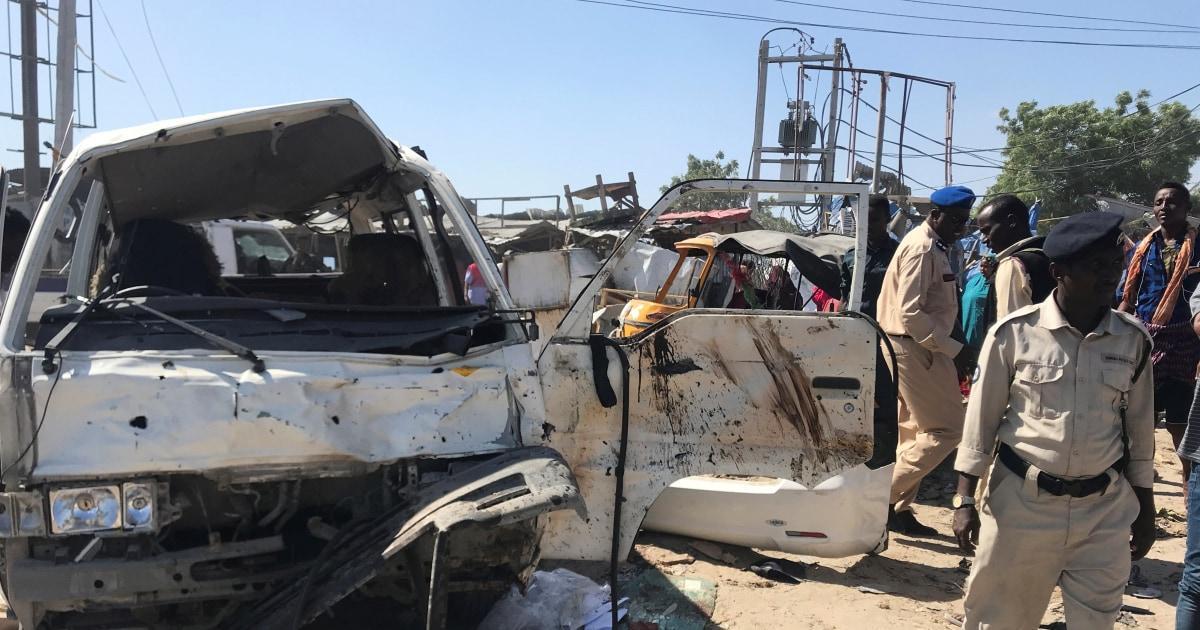 Truck bomb in Somalia's capital kills at least 61 people