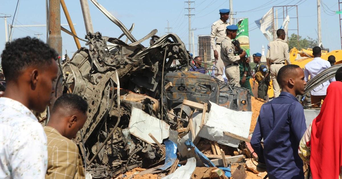 LKW-Bombe in Somalias Hauptstadt tötet mindestens 78 Menschen