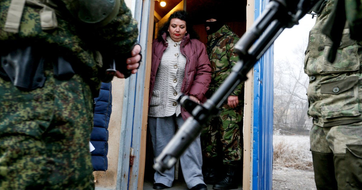 Ukraine, Russia-backed rebels swap prisoners in latest move to end war