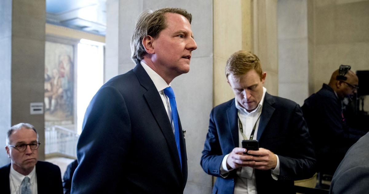 Berufungsgericht ringt mit, ob zu zwingen, ex-White House counsel McGahn Zeugnis