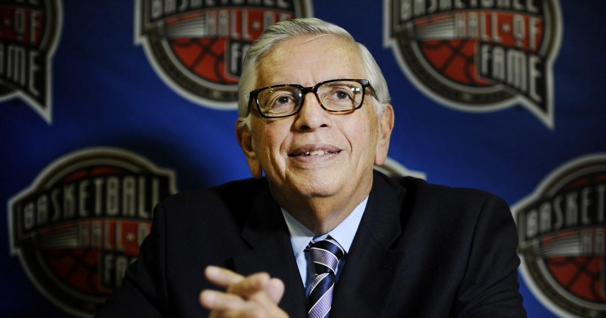 旧NBA委員会のデヴィッドの厳死ん77