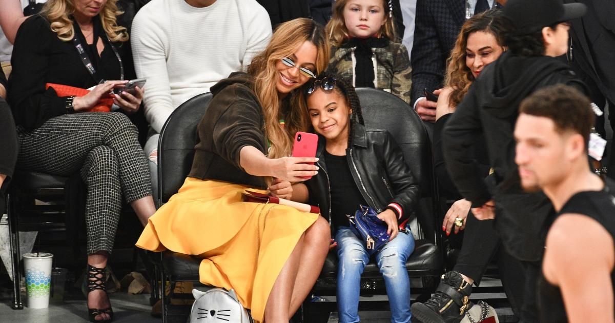 ジャーナリストを掛け嘲笑うの外観Blue Ivy,Beyoncéの7歳の娘