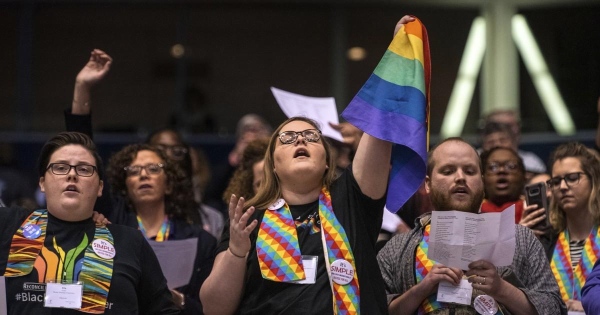 United Methodist Church terlihat untuk dibagi atas LGBTQ masalah