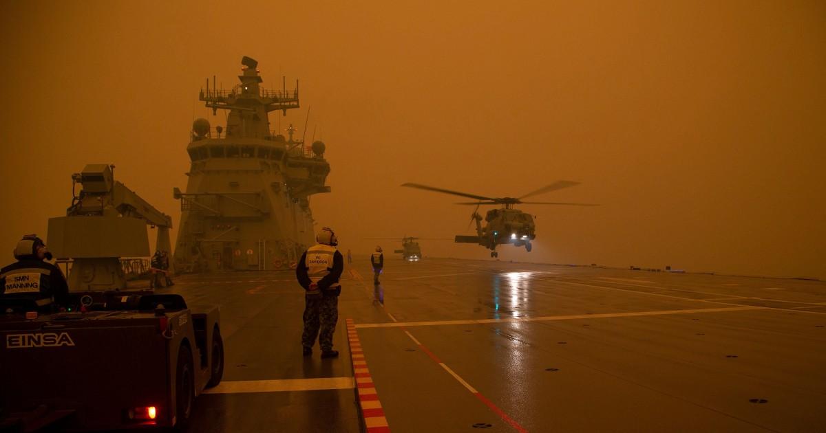 Αυστραλία δεσμεύεται δισεκατομμύρια δολάρια για να wildfire αποκατάστασης