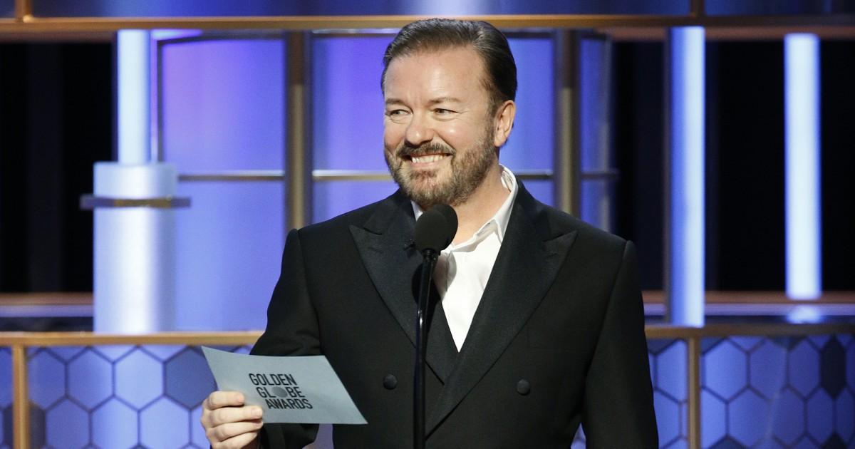 Ricky Gervais' geschmacklose Witze highlight der Golden Globes' Unsicherheiten
