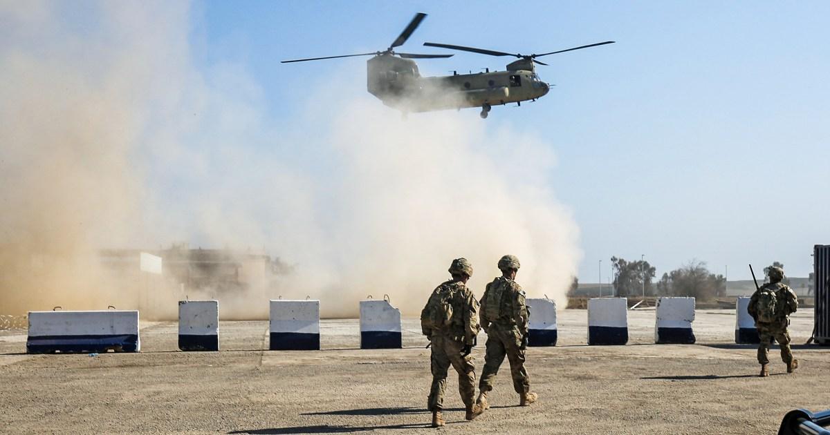 Η επιστολή αναφέρει ΗΠΑ συμμαχικές δυνάμεις να μετακινήσετε ορισμένα στρατεύματα έξω από τη Βαγδάτη