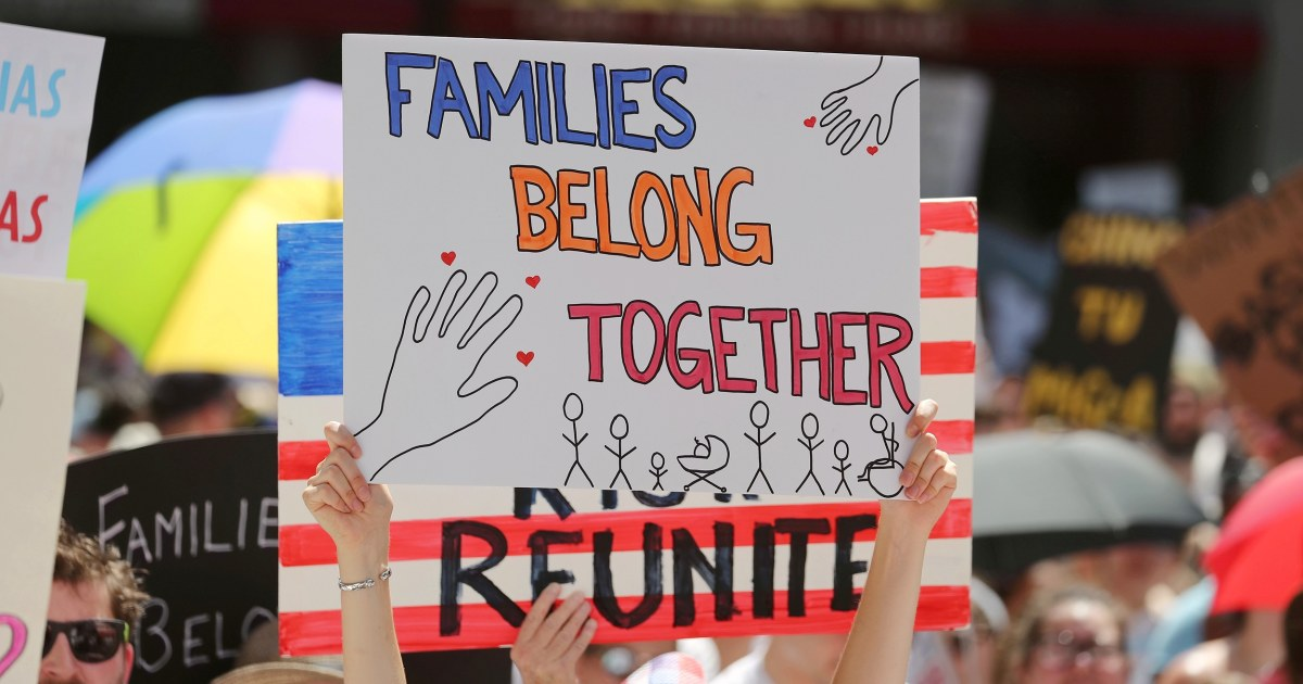 Family separation is back at the U.S./Mexican border, say advocates