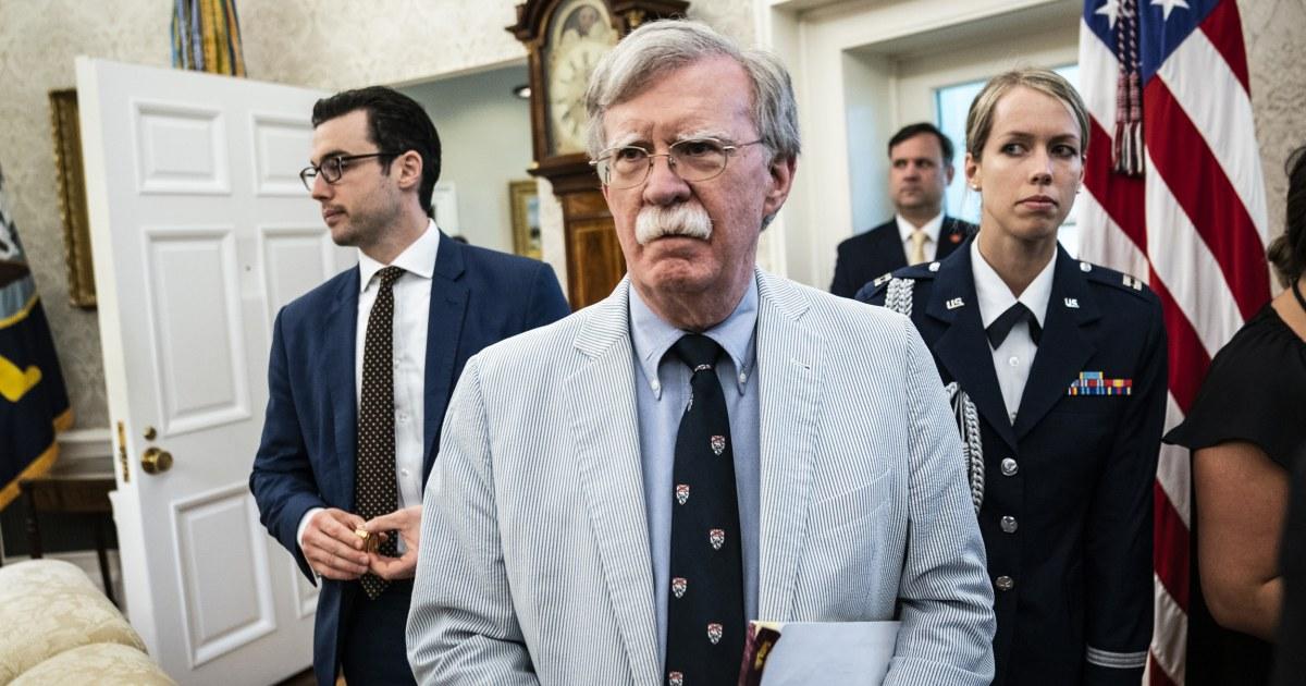 Top-Demokrat verrät privates Gespräch mit Bolton, das widerspricht Trump Ansprüche