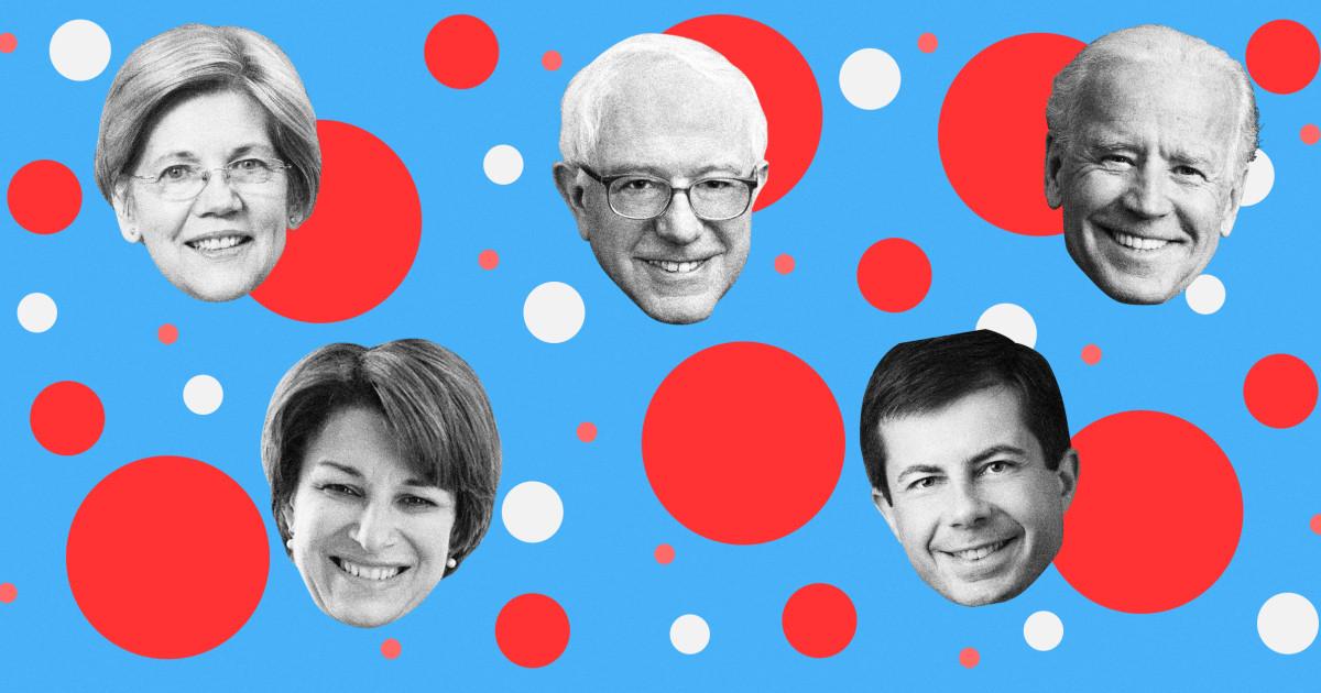 Die Kandidaten, die sich qualifiziert haben für die Januar-Demokratische Debatte?