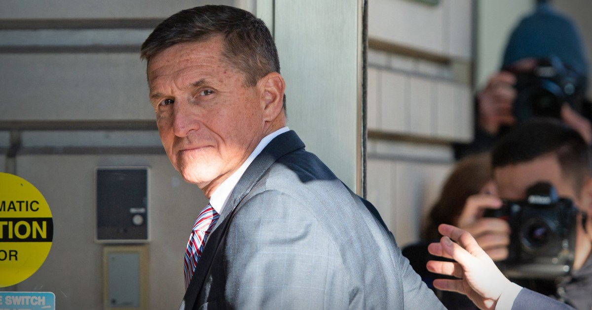 Justice Dept. changes tune, says ex-Trump aide Michael Flynn should serve up to six months in prison