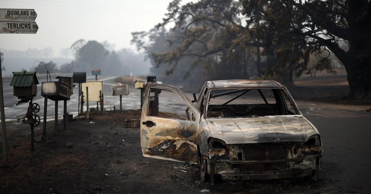 Η αυστραλία είναι οι πυρκαγιές απομυθοποιούν το επιχείρημα ότι είναι φθηνότερο να αγνοήσουμε την κλιματική αλλαγή