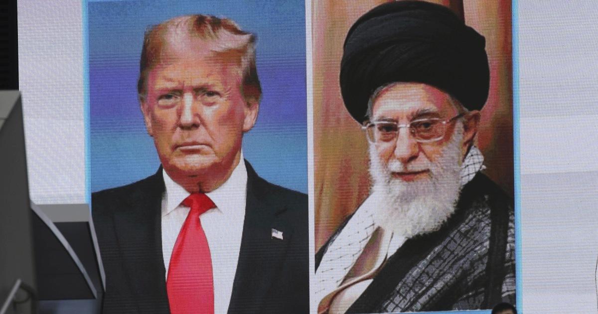 イランの葉のトランプオフランプがまたかです。