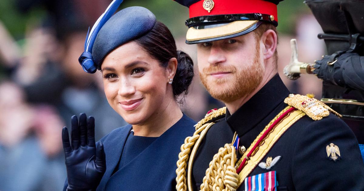 Prinz Harry und Meghan Markle zu Schritt zurück, als hochrangige Mitglieder der königlichen Familie'