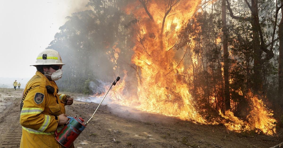 オーストラリアの林野火災の危機に直面してい新しいfoe:記事