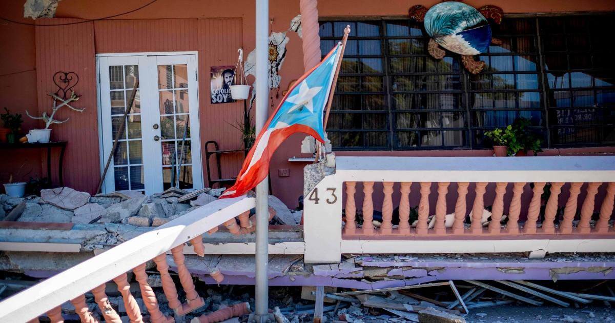 Λυπημένος, ανήσυχος, απαρηγόρητος': Σεισμοί προκαλέσει άγχος στο Πουέρτο Ρίκο, μετά τον Τυφώνα Μαρία