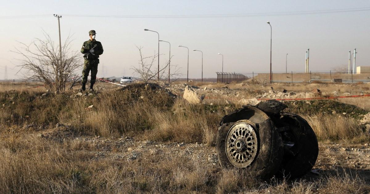 イランが認める意図せずに撮影ダウクライナの平面