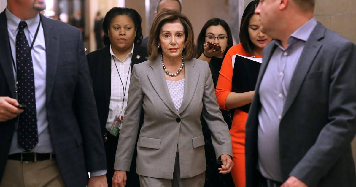 Pelosi says she could send articles of impeachment against Trump to Senate as soon as next week