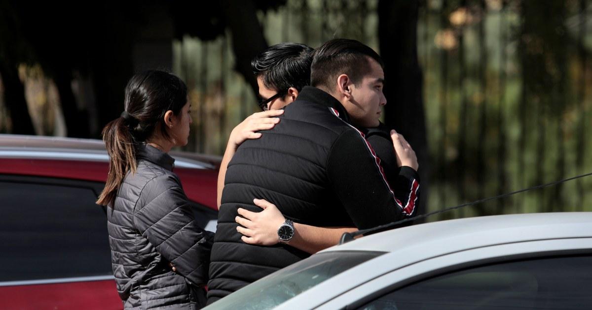 教師が殺害され、学生の負傷者が学生の開消防学校でのメキシコ