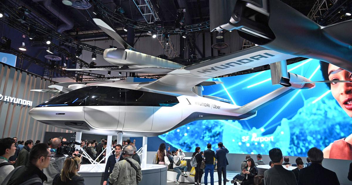 Vom infotainment zum Hubschrauber-Taxis, das auto-Industrie ist hoch an der Consumer Electronics Show