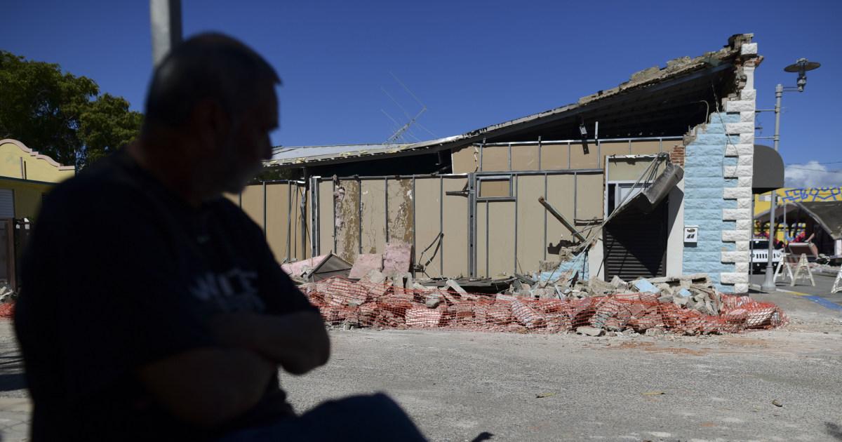 地震-愕然とプエルトリコの他6.0-規模ショック