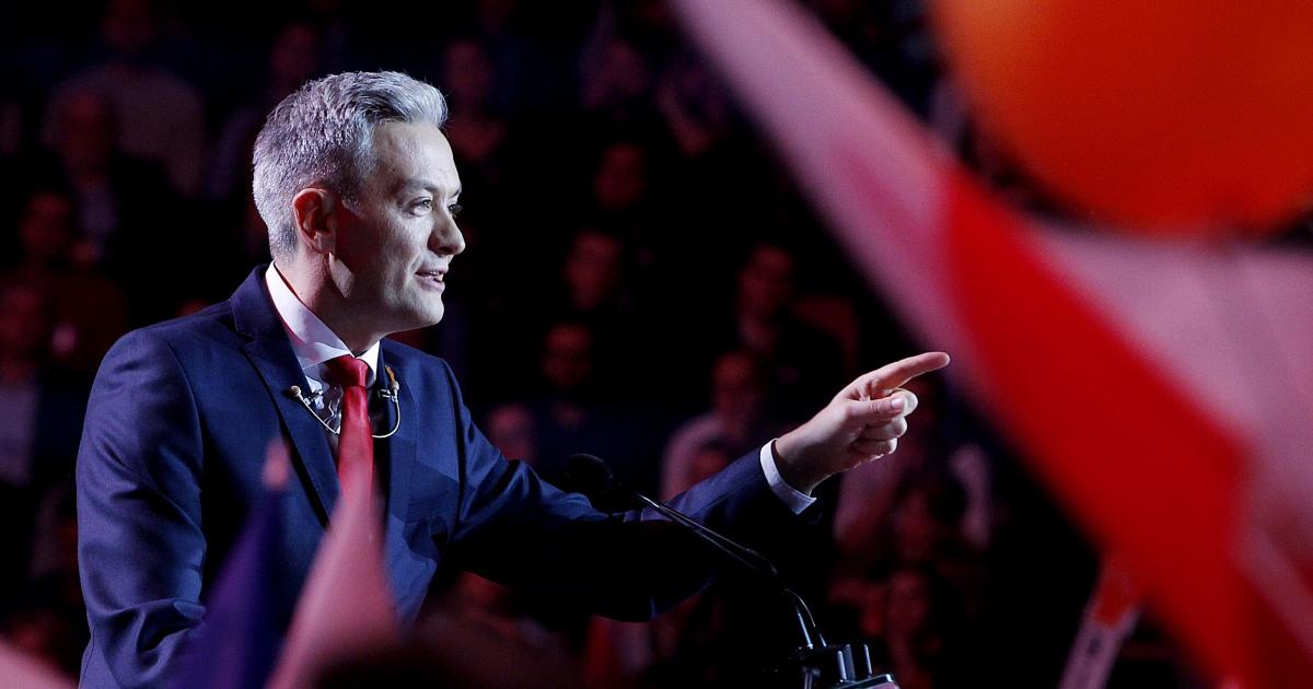 Η πολωνία είναι τα κόμματα της αντιπολίτευσης πατήστε γκέι υποψήφιος να αμφισβητήσει τον πρόεδρο