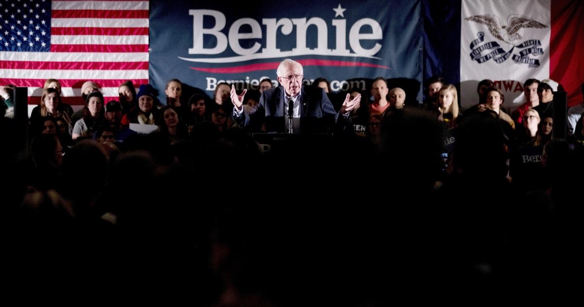 Trumpf dreht den Fokus auf Sanders als senator hält stabil in der Nähe der Oberseite des Demokratischen pack