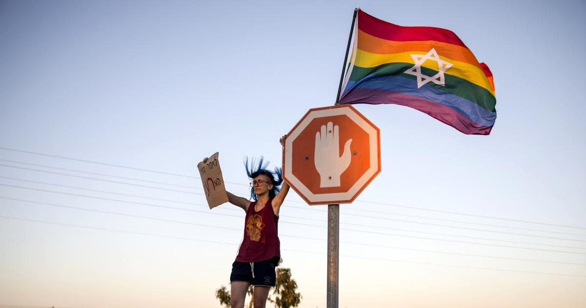 Der israelische Bildungsminister impliziert Homosexualität ist unnatürlich