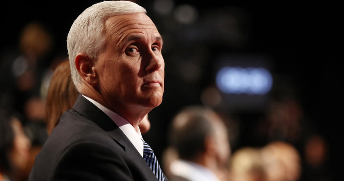 Why Pence is an unfortunate choice to oversee coronavirus response