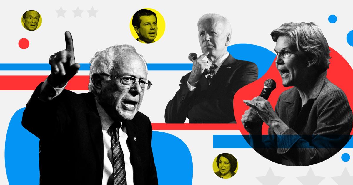 ライブの更新:トラッキングする候補者の話には民主主義の議論