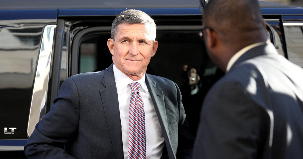Michael Flynn bewegt sich zurückzuziehen schuldig nachdem die Regierung legt auf Gefängnis