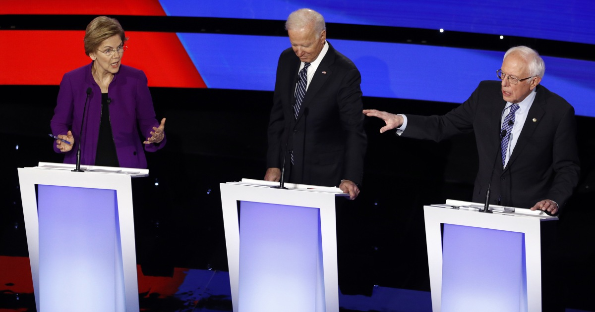 Wer gewann die Demokratische Debatte in Iowa?