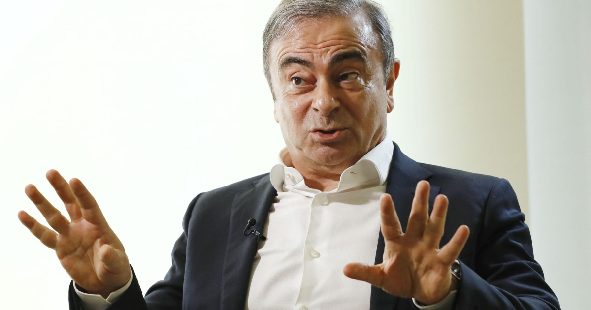 Yamaha warnt vor dem klettern in den Instrumenten-Fällen nach Ghosn Flucht