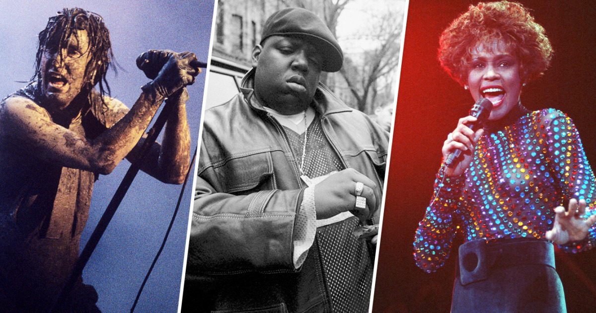 Whitney Houston, Nine Inch Nails, Notorious B. I. G. di antara 2020 Rock Hall of Fame Inductees