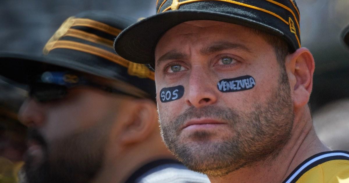 MLB Spieler aus Venezuela, setzen Sie ein Schlaglicht auf Ihre Heimat die Krise