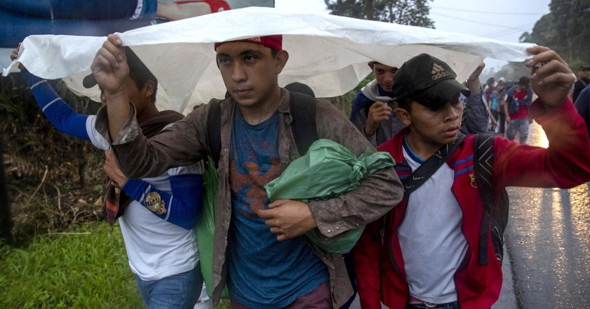Honduranischen Migranten überqueren Guatemala Gesicht noch mehr Hindernisse, aber immer noch hoffen US
