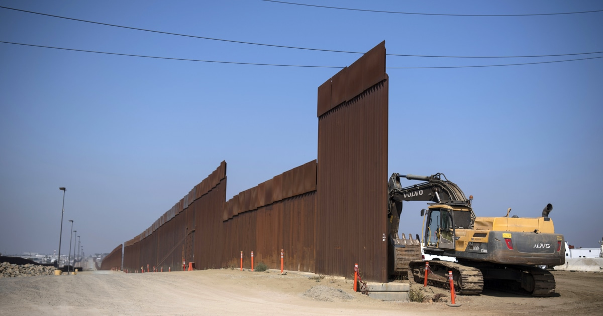 DHS fordert Pentagon zu finanzieren, Hunderte Meilen von Grenze Wand-Konstruktion
