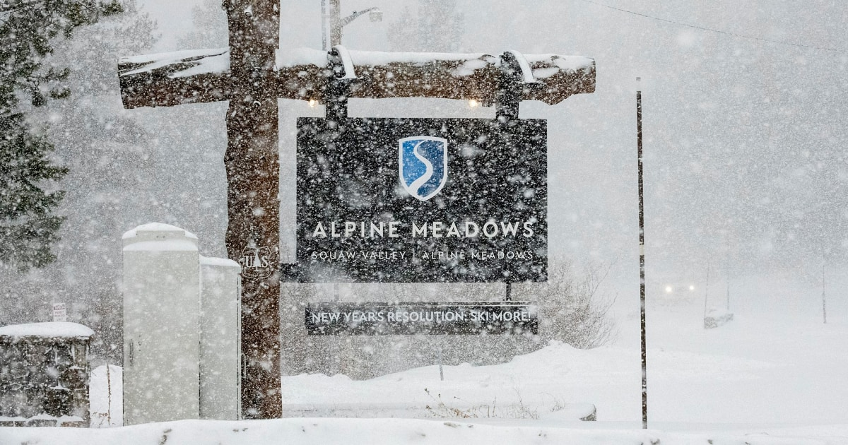 Χιονοστιβάδα στο Lake Tahoe ski resort σκοτώνει ένα άτομο, τραυματίζει σοβαρά τον άλλο