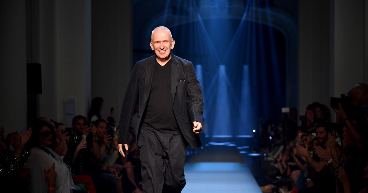 Fashion Designer Jean Paul Gaultier Bids Farewell To The Catwalk