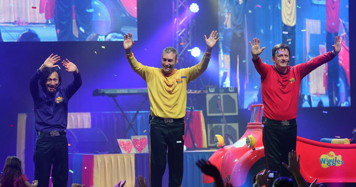 はWiggles'Gregページの崩壊でコンサートオーストラリアの火災被害者