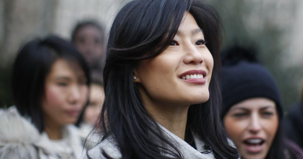 Evelyn Yang spricht bei Frauen März über Ihre sexuelle übergriffe