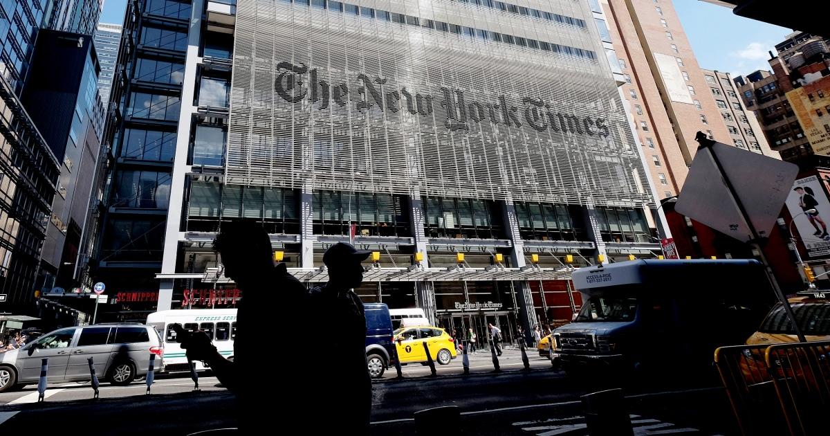 Εφημερίδες όπως Οι New York Times πρέπει να σταματήσει να προσυπογράψει υποψήφιοι για την προεδρία