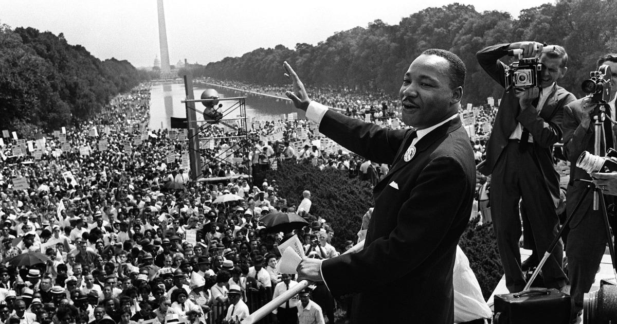 Για την επέτειο της MLK θάνατο του, τα λόγια του είναι