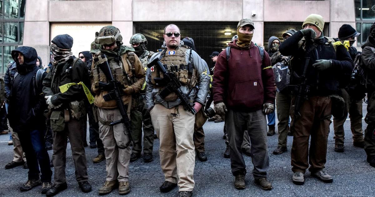 Όπλο-υποστηρικτές των δικαιωμάτων των φώναζαν