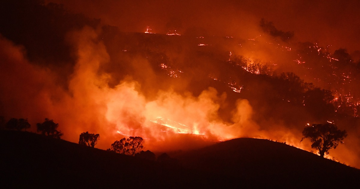 豪州の火を押して地球の限界の研究者が行っている恐れる長期的影響への排出量