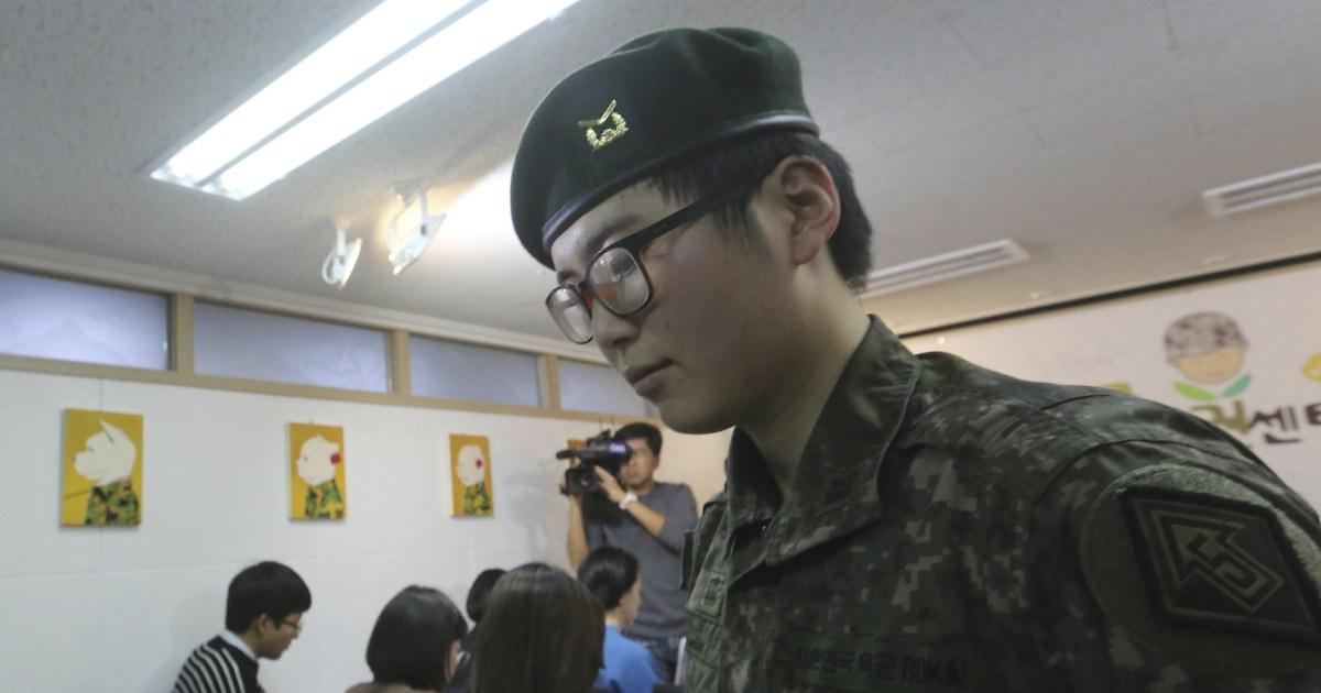 S.韓国軍の放電はわが国初のトランスジェンダーの兵士