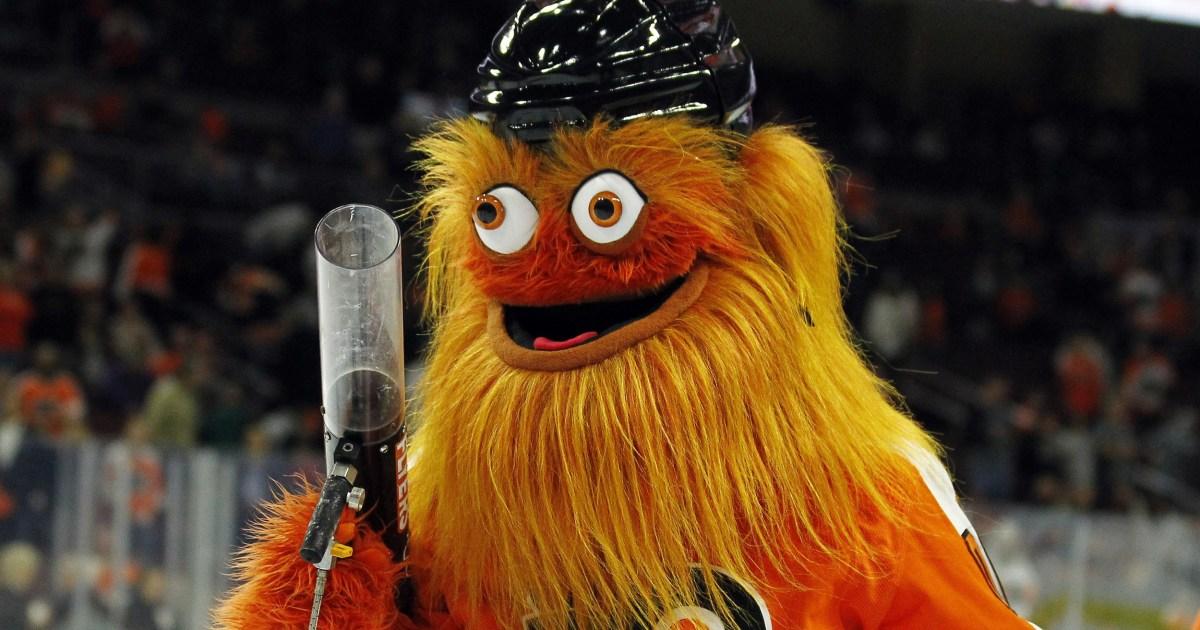 NHL μασκότ Λιθίαση διερευνηθεί για δήθεν punching 13-year-old fan